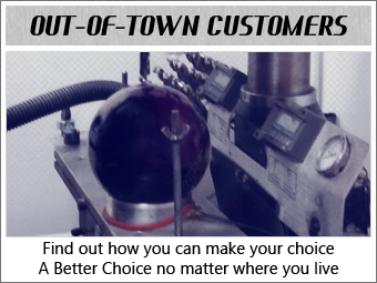 Click for Out-Of-Town Customer information
